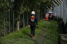 Red-Bull-Horror in Imola: Verstappen raus, Albon Letzter