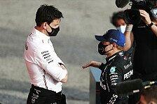Formel 1, Wolff spricht Machtwort: Bottas-Rauswurf gibt's nicht
