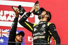 Formel 1, Ricciardos Renault-Erbe: Doch besser als erwartet