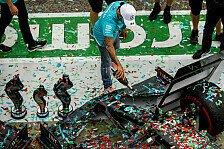 Formel 1 Imola - Presse: Hamilton-Zweifel bei Mercedes-Party
