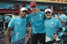 Formel 1, Mercedes-Harmonie: Rivalität nur auf der Rennstrecke