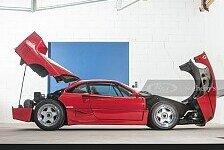 Gerhard Berger verkauft Ferrari F40: Bilder der Maranello-Ikone