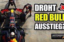 Formel 1 - Video: Red Bull: Formel 1-Ausstieg nicht ausgeschlossen!