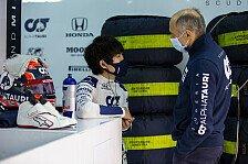 Formel 1 - Video: Neuer Formel-1-Pilot Yuki Tsunoda: Behind the scenes
