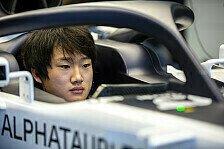 Formel 1: AlphaTauri bestätigt Yuki Tsunoda für 2021