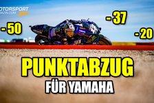 MotoGP - Video: MotoGP-Talk: Verwirrspiel um Strafe für Yamaha