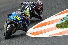 MotoGP Valencia: Regen am Sonntag weg - Fahrer ratlos