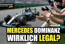 Formel 1 - Video: Formel 1 Q&A: Geht es bei Mercedes mit rechten Dingen zu?