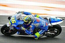 MotoGP Valencia: Joan Mir im Warm-Up voran