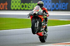 MotoGP Valencia: Grid-Strafe für Aleix Espargaro