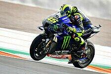 MotoGP Valencia: Elektronik-Defekt legt Valentino Rossi lahm