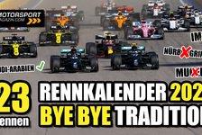 Formel 1 - Video: Formel 1 Kalender 2021: Saudi-Arabien rein, Deutschland raus!