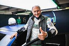 Hans-Joachim Stuck gibt Renn-Comeback bei GT2-Debüt in Monza