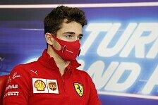 Formel 1: Charles Leclerc positiv auf COVID-19 getestet