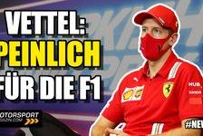 Formel 1 - Video: Peinlich für die Formel 1! - Vettel übt harte Kritik