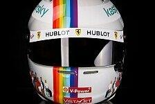 Formel 1: Sebastian Vettel versteigert Helm für guten Zweck
