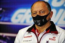 Formel 1: Alfa-Teamchef Frederic Vasseur verlängert Vertrag