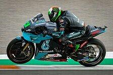 MotoGP Valencia: Morbidelli auf Pole, Suzuki-Duo liegt zurück