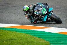 MotoGP Valencia: Morbidelli in FP3 voran, drei WM-Fighter in Q1