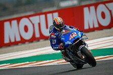 MotoGP Valencia: Alex Rins holt Bestzeit im 4. Training