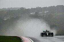Formel 1 Türkei, Qualifying: Mercedes-Alptraum im Regen