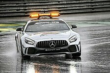 Formel 1, 2021: Aston Martin und Mercedes stellen Safety Cars