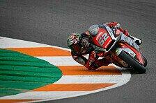 Moto2 Valencia: Sensation durch Manzi - MV Agusta auf Pole