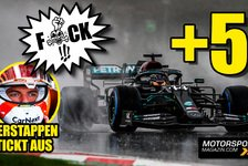 Formel 1 - Video: Formel 1 verrückt: Hamilton fast 5 Sekunden zu langsam!