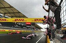 Formel 1 Türkei, Perez feiert: Stroll ins Verderben getrieben
