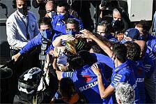 MotoGP: Suzukis Ziel für 2021 ist die Triple Crown