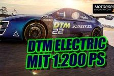 DTM Electric mit 1200 PS schon 2022 als Meisterschafts-Element?