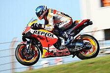 MotoGP - Marc Marquez: Erstes Training nach Operation