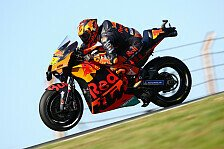 MotoGP Portimao: KTM holt Doppel-Bestzeit
