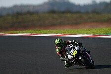 MotoGP Portimao: Crutchlow holt Warm-Up-Bestzeit, Bradl stürzt