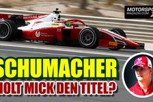 Formel 1 - Video: Mick Schumacher vor Formel-1-Aufstieg: Müssen smart sein
