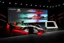 Formel E: Audi startet erstmals mit selbst entwickeltem Motor
