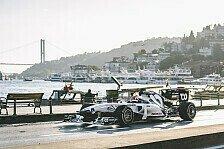 Formel 1 - Video: Formel 1: Albon und Gasly zeigen wilde Fahrt durch Istanbul