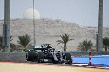 Formel 1 Bahrain, 1. Training: Mercedes deklassiert Konkurrenz