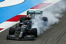 Formel 1 Bahrain - Mercedes: Bestzeit auch im Test-Modus