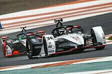 Formel-E-Test, Tag 1: Porsche-Bestzeit durch Andre Lotterer