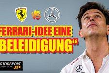 Formel 1 - Video: Formel 1, Toto Wolff: Ferrari-Vorschlag eine Beleidigung!