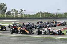 Formel 2 und Formel 3, 2021: Hauptrennen sonntags vor Formel 1