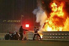 Formel 1, Grosjean meidet IndyCar-Ovale: Unfall eine Lehre
