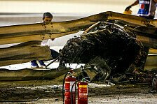 Formel 1, Vettel von Unfall schockiert: Leitplanke muss halten
