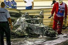 Formel 1, Grosjean-Unfall: FIA verändert Strecke für Sakhir GP