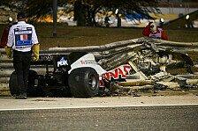 Grosjean-Horrorcrash in Bahrain: Formel 1 reagiert geschockt