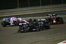 Formel 1, Bahrain: Hamilton siegt, Feuerunfall von Grosjean