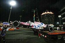 Formel 1, Perez-Pleite in Bahrain: Mercedes-Defekt ruiniert P3