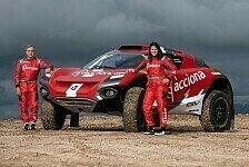 Extreme E: Carlos Sainz nimmt mit Laia Sanz teil