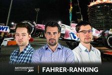 Formel 1 Bahrain - Fahrernoten: Perez triumphiert trotz Ausfall